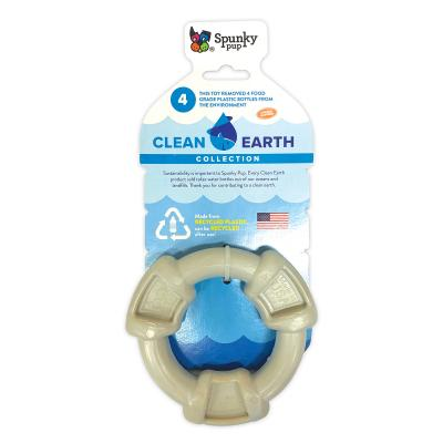 Spunky Pup Clean Earth Recyclable Ring Toy For Dogs