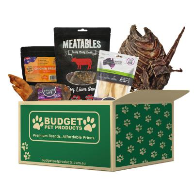 Premium Natural Tasty Treat Box For Dogs