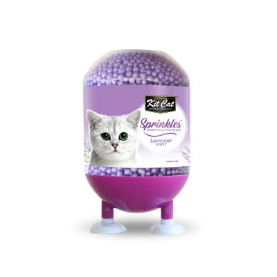 Kit Cat Sprinkles Deodorising Beads For Litter Lavender For Cats 240gm