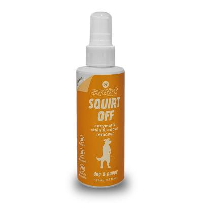 Squirt Off Enzymatic Stain And Odour Remover For Dogs 125ml