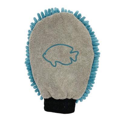 DGS Aqua Microfibre Cleaning Mitt Pacific Blue For Fish Aquarium