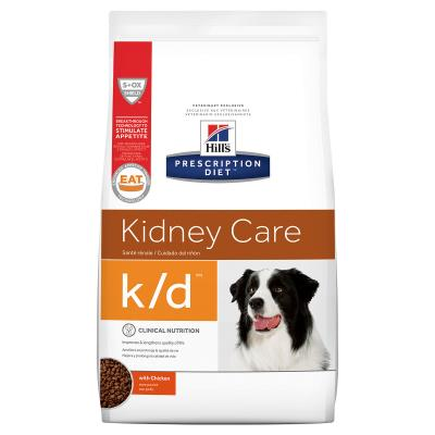 Hills Prescription Diet Canine k/d Kidney Care Chicken Dry Dog Food 3.85kg (8621)