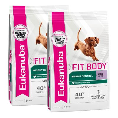 Eukanuba Fit Body Weight Control Small Breed Adult Dry Dog Food 6kg