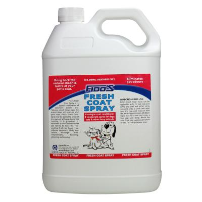 Fidos Fresh Coat Spray Deodoriser For Dogs And Cats 5L Refill