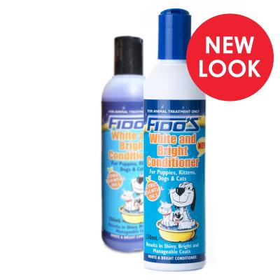 Fidos Conditioner White And Bright For Dogs And Cats  250ml