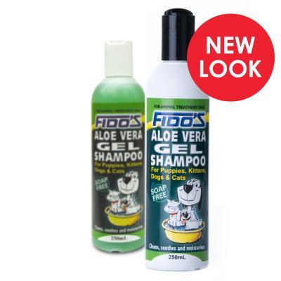 Fidos Shampoo Aloe Vera Gel For Dogs And Cats 250ml