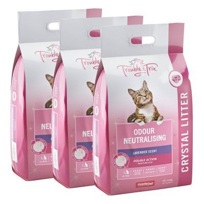 Trouble & Trix Angel Crystal Lavender Scent Cat Litter 19.2kg