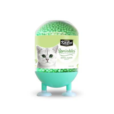 Kit Cat Sprinkles Deodorising Beads For Litter Apple For Cats 240gm